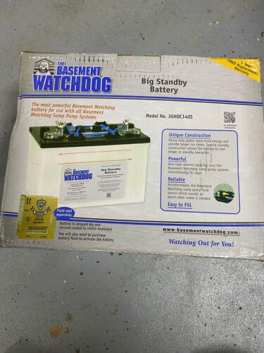 Basement Watchdog 7.5 Hour Standby Battery