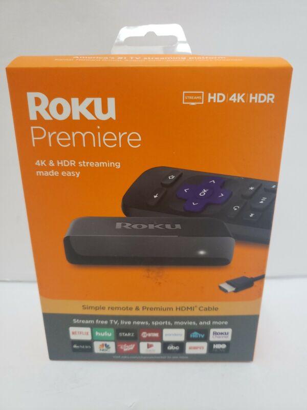 Roku - Premiere 4K Streaming Media Player