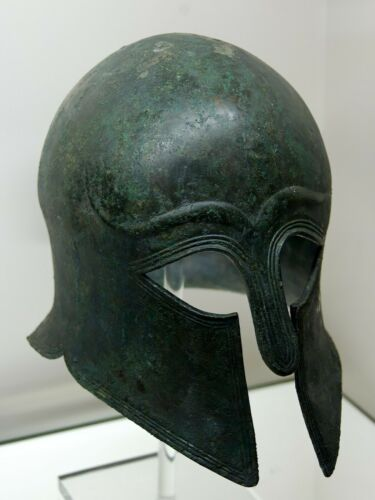 Medieval Greek Corinthian Helmet Antique  gladiator barbute viking helme