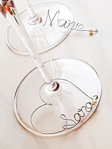 Wine glass charms Christmas dinner deciration Edmonton Edmonton Area image 1