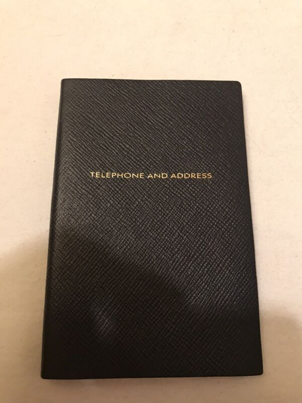 Smythson Address Book