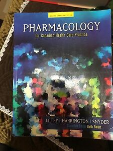 Pharmacology for Canadian health practice