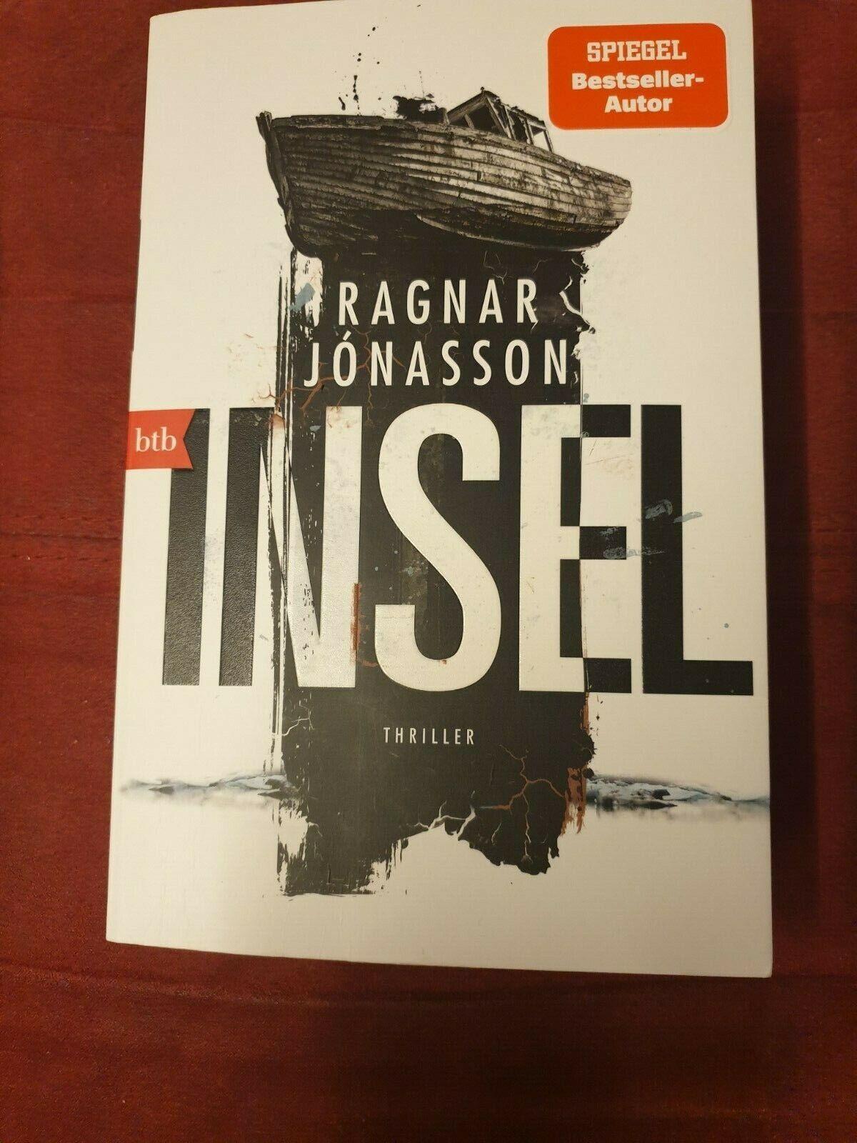 Ragnar Jónasson:    INSEL     Thriller