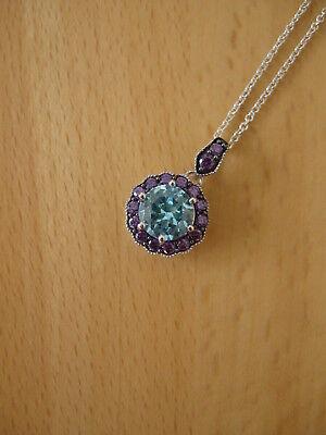 KARINA ARIANA Halskette 925er Silber 2,4g mit Anhänger Durchmesser ca. 10mm NEU ()