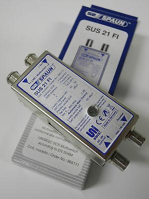 MULTISWITCH SCR + DTT - 2IN 1OUT scr (2 utenze) - SUS 21 FI (Per ITALIA!) SPAUN