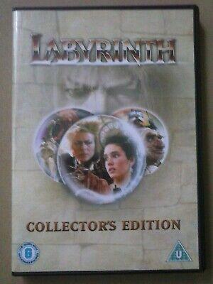 Labyrinth DVD (2004) David Bowie, Henson (DIR) cert U  comprar usado  Enviando para Brazil