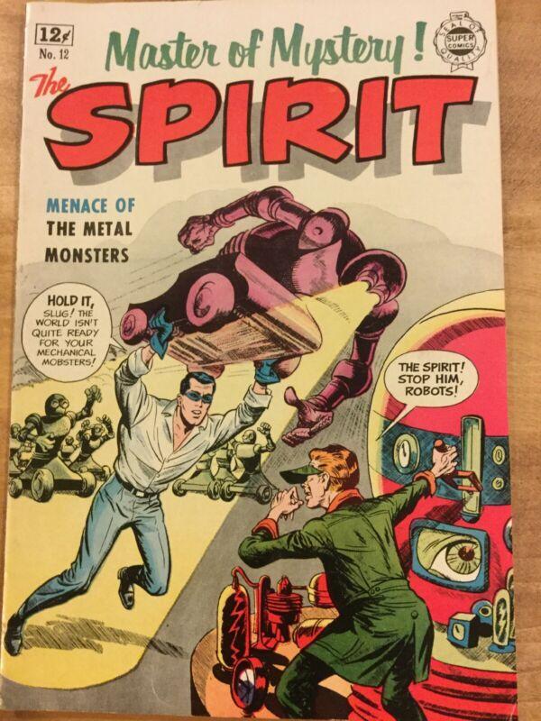 The Spirit, No 12, 1964 Super Comics