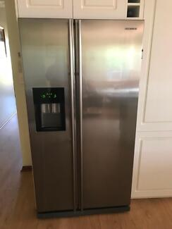Samsung side by side fridge