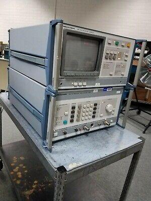 Rohde Schwarz Emi Test Receiver Display