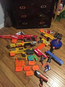 Various nerf guns for sale