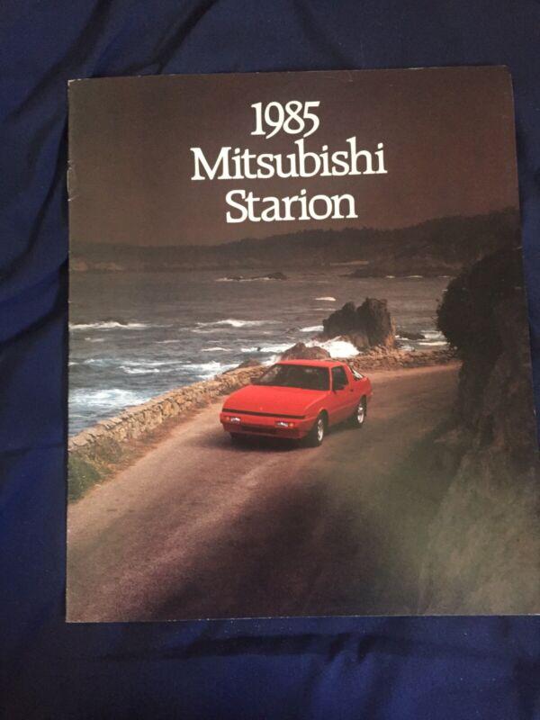1985 Mitsubishi Starion USA Market Sales Catalog Brochure Prospekt