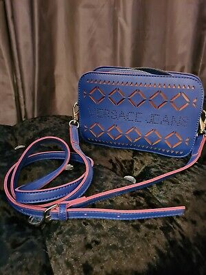 Blue & Pink Versace Jeans Bag