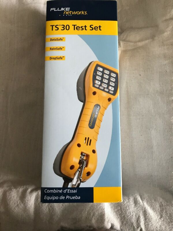 FLUKE NETWORKS 30800009 Test Set,TS30 w/ ABN,Waterproof