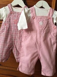 Infant Girl's Dungarees Size 0-3 mths