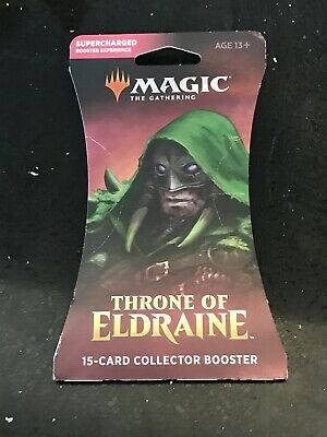 The Gathering Throne of Eldraine Collector Booster 15 Card Booster Pack