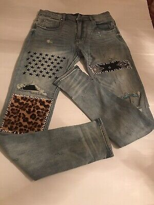 Mike Amiri Jeans Size 34 Sold Out
