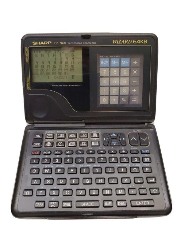 OZ -7620 Sharp Wizard 64 KB Electronic Organizer