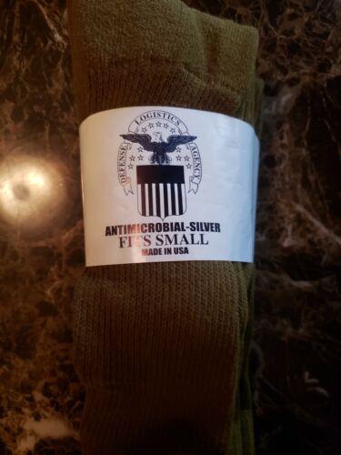 US Military Socks DLA OD Green/Coyote Brown/Black