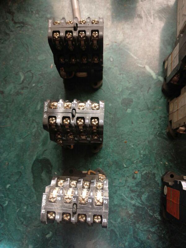 3 Klockner Moeller contactors