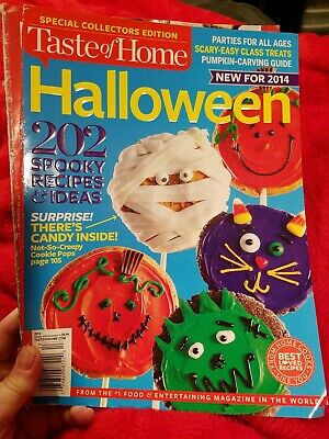 Taste Of Home HALLOWEEN magazine 2014 Issue ](Taste Of Home Halloween Magazine)