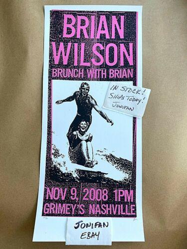 Rare! BRIAN WILSON Grimely