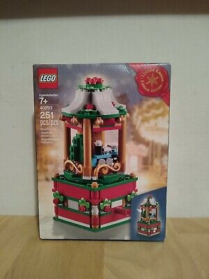 Lego 40293 Christmas Carousel Limited Edition 2018 Factory Sealed