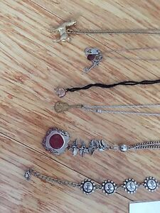 6 x necklaces including murano glass and choker Eight Mile Plains Brisbane South West Preview