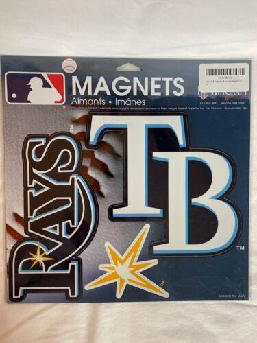 "Tampa Bay Rays MLB Prismatic Magnet Sheet Hologram 11x11"" se"