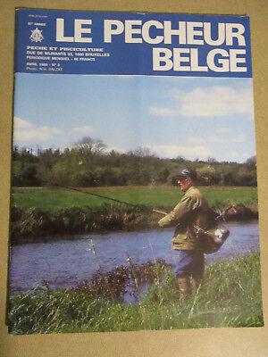 LE PECHEUR BELGE: N°3: AVRIL 1986: PECHE ET PISCICULTURE