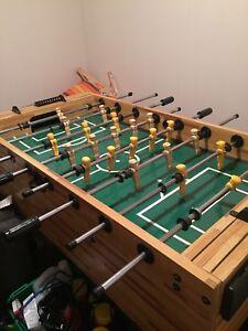 Foose ball table