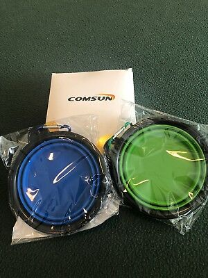 Free Shipping! COMSUN 2-pack Collapsible Dog Bowl, Food Grade Silicone BPA Free