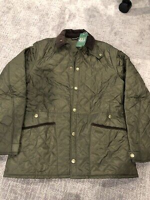 Barbour Heritage Liddesdale Quilt Jacket Mens XL Olive 125 Anniversary Special