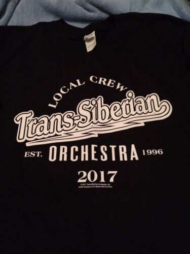 Trans-Siberian Orchestra Local Crew T-shirt limited ed. Brand New/Never Worn