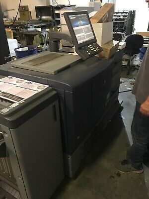 Konica Minolta Bizhub Pro C6000. Professionally Serviced Printing Well.