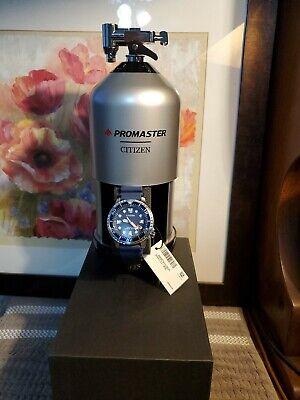 Citizen BN0151-09L Men's ProMaster Professional Diver Eco-Drive Watch Blue