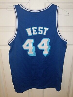 JERSEY JERRY WEST Los Angeles Lakers #44 NBA 1961-62 Hardwood Classics L Large