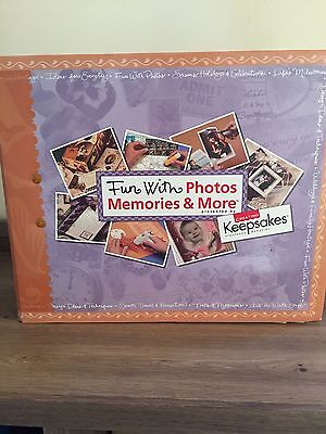 Creating Keepsakes Fun with Photos Memories and More Book, New!