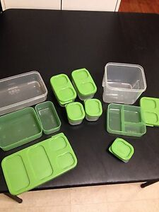 Rubbermaid compartment containers