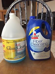 FREE - household cleaning supplies