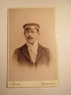 Hannover - Student in Couleur mit Doppelband - CDV / Studentika