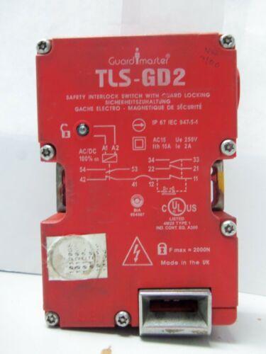 Nice Allen Bradley 440G-T27180 Guardmaster TLS-GD2 Safety Interlock Switch Ser.A