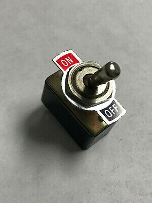 Lafayette 99-61509 Vtg High Quality Toggle Switch Sp-sp 125v 3a Radio Boat Audio