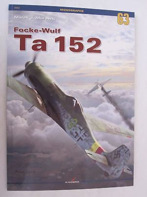 Used, Kagero Book: Focke-Wulf Ta 152 C-1/H-0/H-1 models - 31 Drawings 4 Color Profiles for sale  Gettysburg