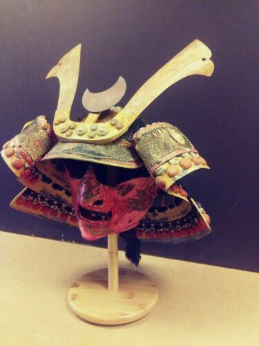 Japanese samurai  armor helmet ( kabuto) +mask