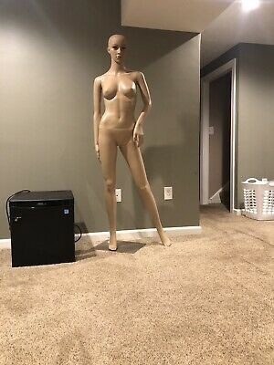 Realistic Full Body Female Mannequin With Base Display Local Pick Up Cash Only
