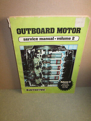 (OUTBOARD MOTOR SERVICE MANUAL VOLUME 2)