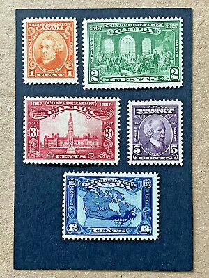 Canada #141-5 Mint NH    Catalog $71.75