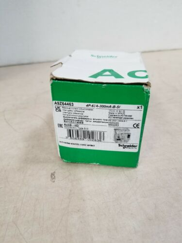 Schneider A9Z64463 Acti9 iID Residual Current Circuit Breaker - 4P 63A 300mA