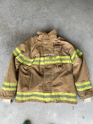 Firefighter Firegear Brand Turnout Bunker Coat Size 44 Chest 1998