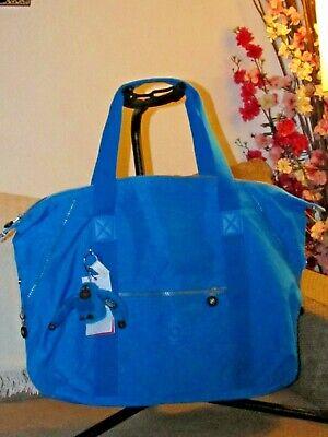 Kipling ART Medium Tote Bag Agua Blue